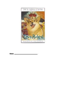 Titus Rules! Literature Response Log