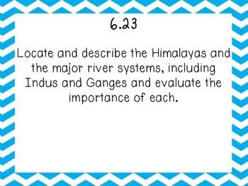 Tn 6th grade World History Standards part 4- India