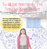 Teaching Narrative Writing