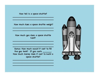 Do You Have What it Takes to Be An Astronaut?  Powerpoint Questions