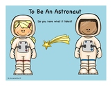 To Be An Astronaut: Do You Have What it Takes?  Powerpoint