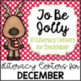 To Be Jolly {10 Literacy Centers for December}