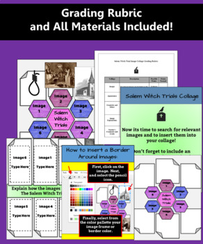 To Be a Witch: Salem Witch Trials Digital Teaching Bundle for Google Drive