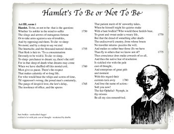 To Be or Not To Be - Hamlet