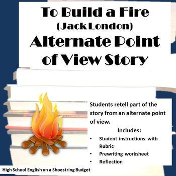 To Build a Fire Alternate Point of View Creative Writing P
