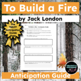 To Build a Fire by Jack London | The *Best* Anticipation Guide Ever