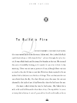 """""""To Build a Fire"""" Literary Analysis Essay Assignment"""