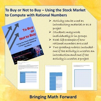 To Buy or Not to Buy - Using the Stock Market to Compute with Rational Numbers