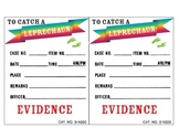 To Catch a Leprechaun Evidence Cards