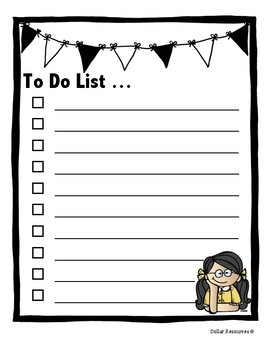 To Do Checklist