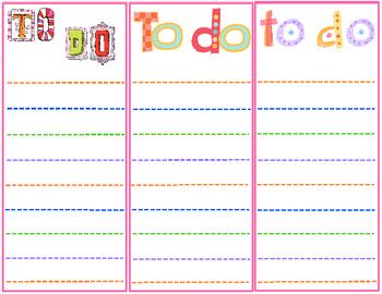 To-Do List 1