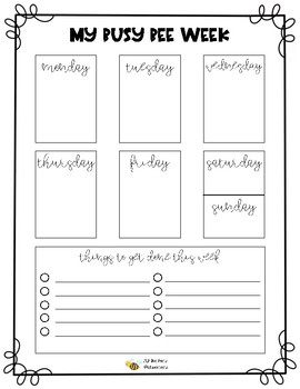 To Do List Organizer