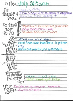 interactive to do list