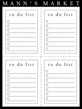 To Do List - Small