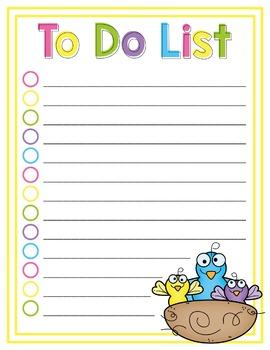 To Do List - Spring