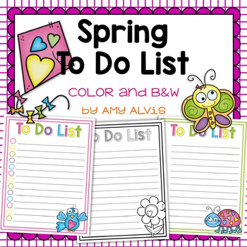 To Do List - Spring