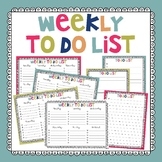 To Do List - Weekly