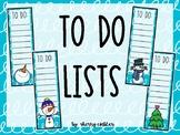 To Do List Winter