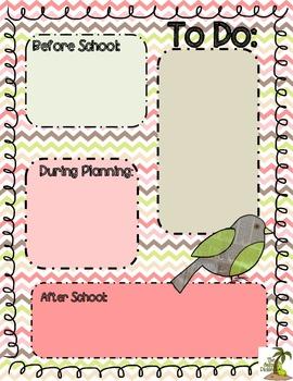To Do List with Bird