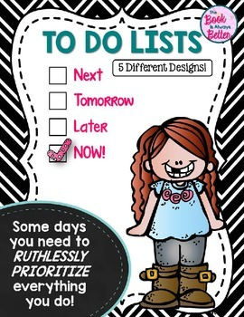 To Do Lists: Prioritize