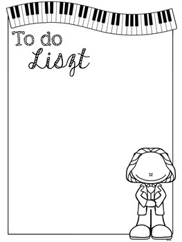 To Do Liszt {Freebie}