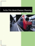 To Do This Week Planner - Planning Your Week