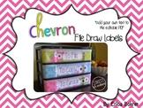 To File, To Grade, To Copy Desk Organizer - Chevron