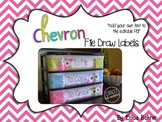 To File, To Grade, To Copy Desk Organizer - Chevron