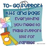 To-Go Support Kits/Bags For Families