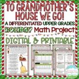 Christmas Math Project | Google Classroom