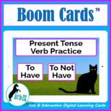 To Have - Verb Practice - BOOM CARDS™  - ELL ESL