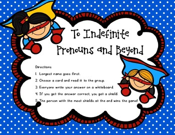 To Indefinite Pronouns and Beyond