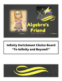 Infinity Math Enrichment Choice Board