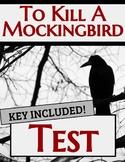 To Kill A Mockingbird Test