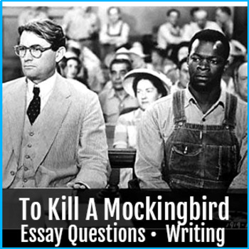 To Kill A Mocking Bird Essay and Questions Expository Writing Discussion 6-8.2.D