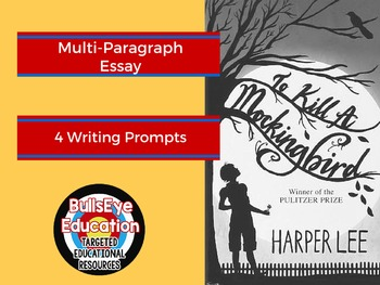To Kill A Mockingbird: Four Writing Prompts