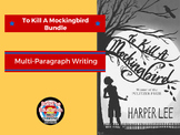 To Kill A Mockingbird: Bundle of Writing Prompts