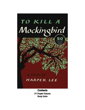 To Kill A Mockingbird Chapter Study & Essay Guide