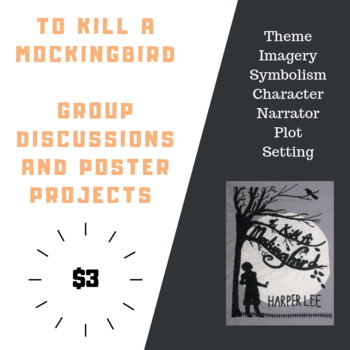 To Kill A Mockingbird Chapters 1-6: Small Group Discussions and Poster Project
