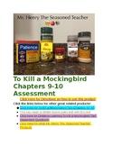 To Kill A Mockingbird Chapters 9 & 10 PARCC Aligned Test & Essay