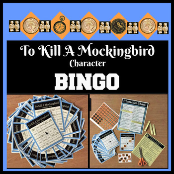 To Kill A Mockingbird Character BINGO Game Set