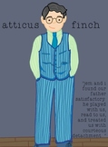 To Kill A Mockingbird Character Poster - Atticus Finch