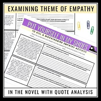 TO KILL A MOCKINGBIRD ACTIVITY: EMPATHY
