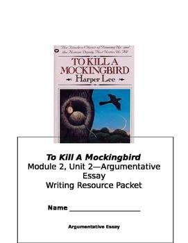 To Kill A Mockingbird Essay Outline Packet