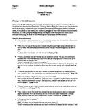 To Kill A Mockingbird Essay Prompts