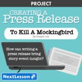 To Kill A Mockingbird: Event Press Release - Projects & PBL