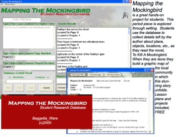 To Kill A Mockingbird Map Database Project for Windows PC