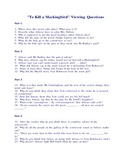 To Kill A Mockingbird Movie Viewing Questions