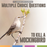 To Kill A Mockingbird Multiple Choice Quizzes