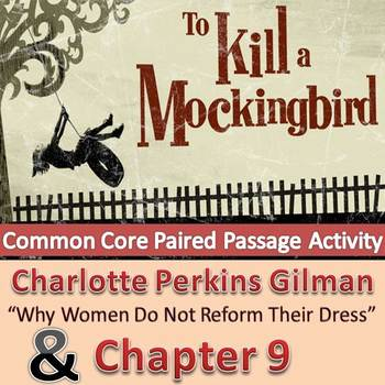 To Kill A Mockingbird - Paired Passage with Chapter 9